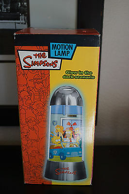 The Simpsons Glow in the Dark Motion Lamp