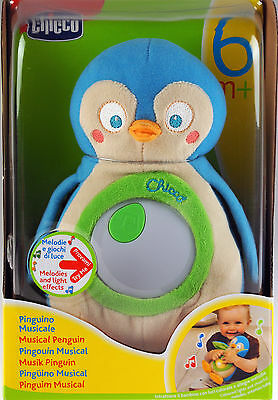 Chicco Musical Penguin Musical Soft Toy / Night Light