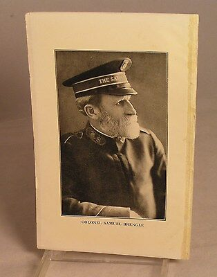 Salvation Army - 5 X 7 PAPER PHOTO - COMMISSIONER SAMUEL LOGAN BRENGLE