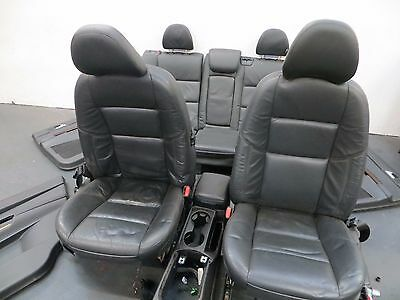 Genuine Volvo V50 Leather Memory Seats And Door Cards 2004-2008