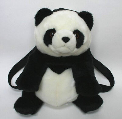 Cute Panda Bear Plush Backpack/Handbag/Purse