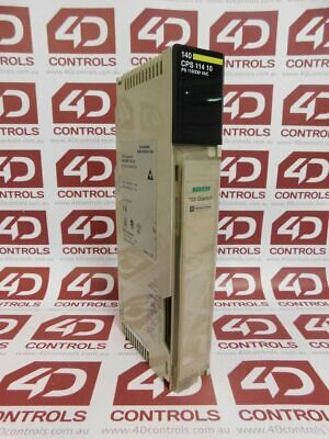 Modicon 140CPS11410 AC POWER SUPPLY 115/230V 8A - Used
