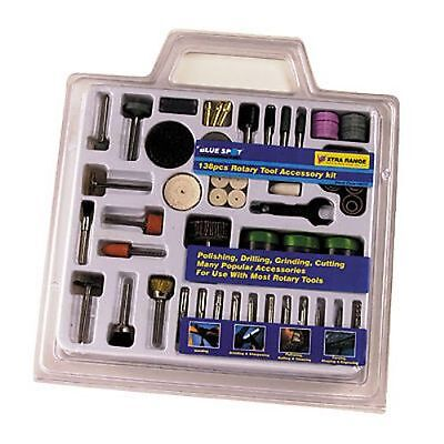 138pc ROTARY TOOL ACCESSORY KIT WITH LIFETIME GUARANTEE / WILL FIT A DREMEL TOOL