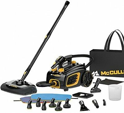 Heavy Duty Steam Cleaner Floor Carpet Cleaning Canister System Home Auto RV new