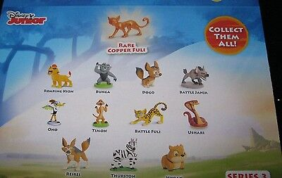 The Lion Guard Collectable Mini Figure - Series 3 - Choose Character