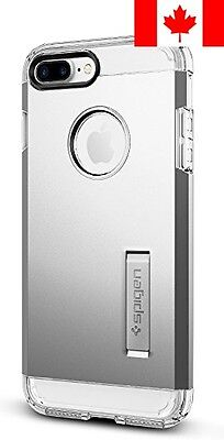 Spigen Tough Armor iPhone 7 Plus Case - Satin Silver