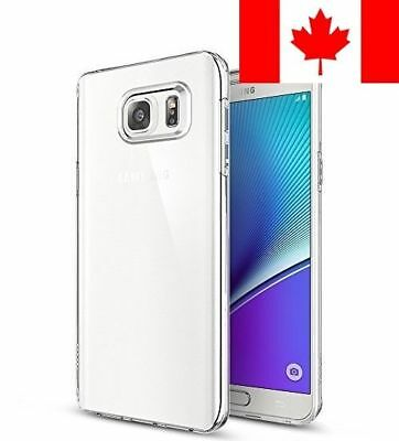 Spigen Liquid Crystal Galaxy Note 5 Case - Crystal Clear