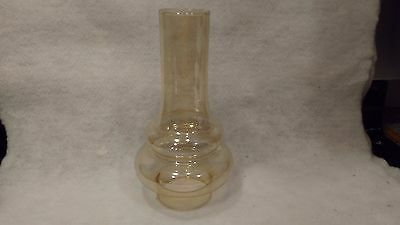 Glass Oil Lamp Chimney Double Bulge 2 1/2  inch by 8 inch - NEW