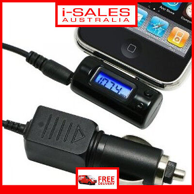 FM Transmitter + Remote + Car Charger Adapter For iPod iPhone 4G 3GS 3G New