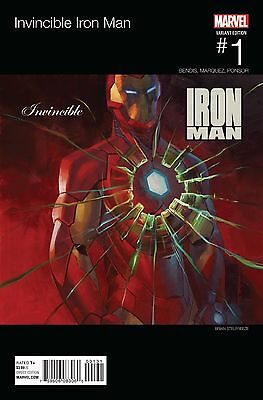 Invincible Iron Man #1 Marvel 2015 HipHop Variant NM