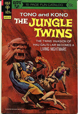 The Jungle Twins #8 VG (4.0) - 16 page Fun Catalogue Intact!