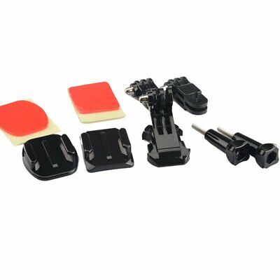 SHOOT Helmet Front Mount Accessories Set J-Hook Bracket for Gopro 4 3 3+ 4