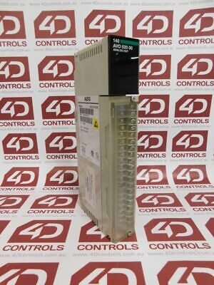 Modicon 140AVO02000 Analog Otput Module 4 Channel Voltage - Used