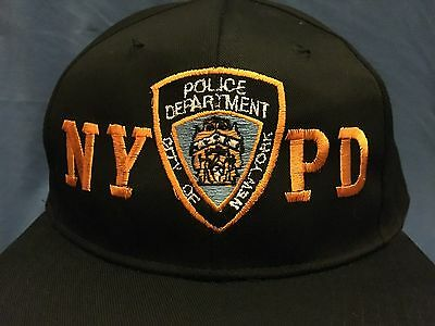 NYPD Ball Cap New York Police Department Hat Blue Law Enforcement Manhattan USA