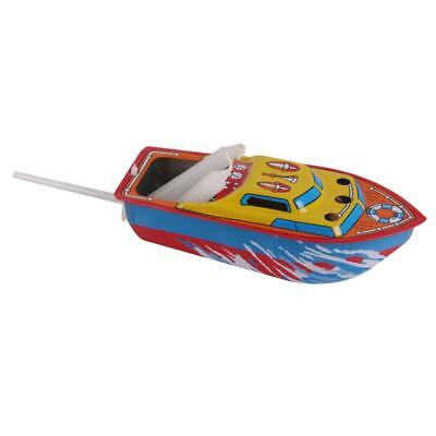 Collectible Candle Powered Steam Boat Tin Toy Floating POP POP Boat Toy Gift