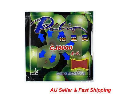 2PCS Palio CJ8000 (40-42°) Table Tennis Ping Pong racket Rubber Loop+Attack Type