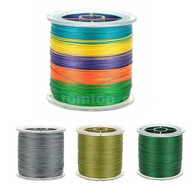 500M Super Strong Multifilament Polyethylene Braided Fishing Line Pro G4X1