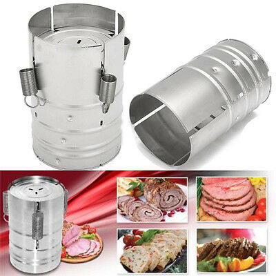 Stainless Steel Press Ham Maker Meat Fish Poultry Seafood Homemade Specialties