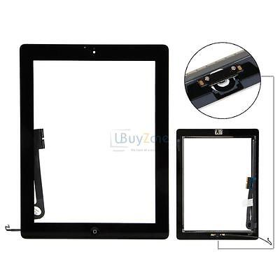 New Glass Lens Touch Digitizer Screen for iPad 4th Gen A1458 A1459 A1460 Black
