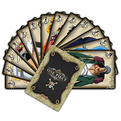 Anime One Piece 54pcs Playing Cards Deck Poker