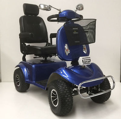 Condor Mb1 Luxury Mobility Scooter. Full Suspension. Luxury High Back Seat.