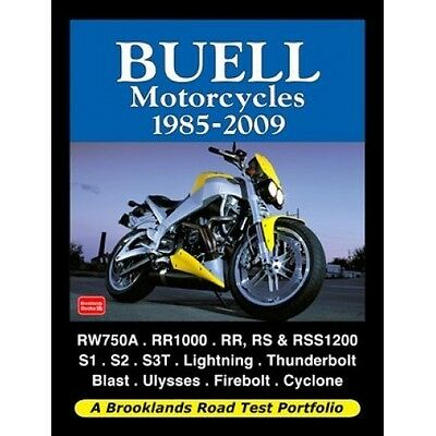 Buell Motorcycles 1985-2009 Road Test Portfolio book paper