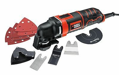 Black & Decker 300W Multi-Oscillating Tool and accessories MT300KA