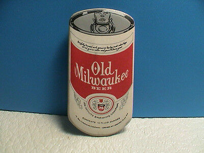 Old Milwaukee Beer Pin Beer Can Shaped Pinback Schlitz Brewing Company Brewery