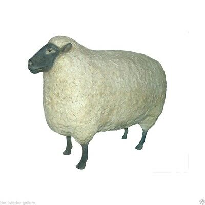 Sheep Statue - Life Size Sheep Statue - Garden Sheep Statue - Large Sheep Statue