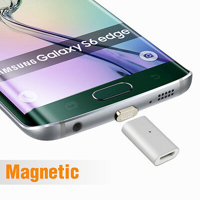 Micro USB Magnetic Charging Adapter For Android Samsung Galaxy S7 S6 Edge LG etc