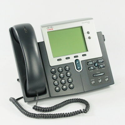 Cisco CP-7942G Unified IP Phone 7942 VoIP Telephone 4-bit Grayscale Display
