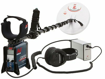 Metal detector Minelab GPX 5000 + accessories for search gold gold detector