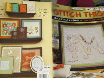 Stitch This Embroidery Book-10 Designs-Leisure Arts