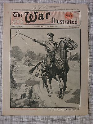 The War Illustrated, Great War #210: Q Ship, Whippet Tank, Amiens, Submarine BX2