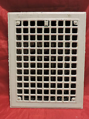 Antique Iron Heating Vent Grate Square Design 14 X 11