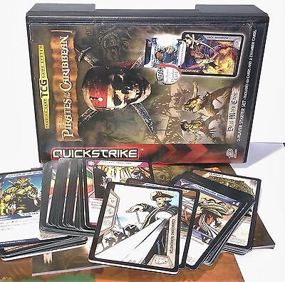 Pirates Of The Caribbean Dead Mans Chest - Trading Card Game - QUICKSTRIKE 2006