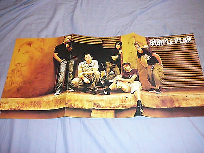 SIMPLE PLAN 11 x 23 POSTER CLIPPING (B)