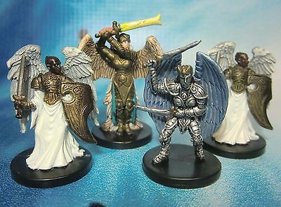 Dungeons & Dragons Miniatures Lot  Angels & Justice Archon !!  s100
