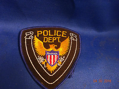 Vintage Generic Police Department   Patch
