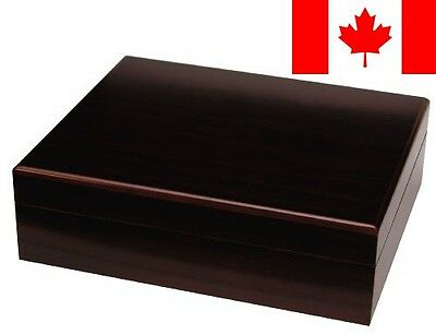 Quality Importers Travel Humidor, Traveler 20, Brown