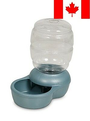 Petmate 24488 Replenish Pet Waterer with Microban, 1/2-Gallon (Pearl Blue)