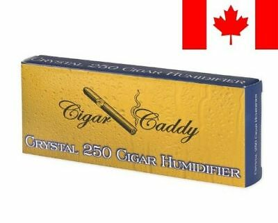 Cigar Caddy Crystal, Large Crystal Gel Humidifier, Rectangle