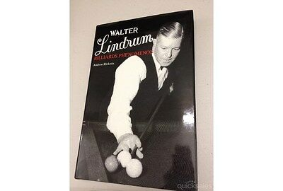 Walter Lindrum - Billiards Phenomenon  by  Andrew Ricketts - New - First Edition