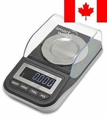 Smart Weigh High Precision Milligram Digital Scale, Powder, Fine Items, Jewel...