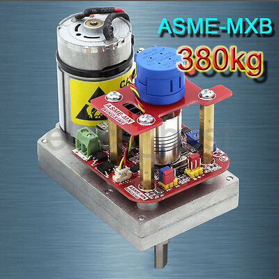 380kg.cm ASME-MXB DC12-24V 3600° High Torque Alloy Servo for Robot Arm