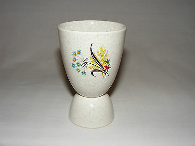 Vintage Grindley England Restaurant Ware Mid Century  Double Egg Cup Holder