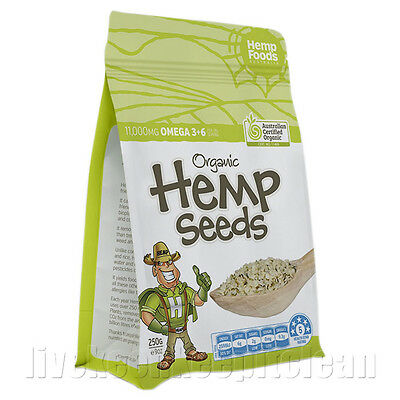 Hemp Foods Australia - Certified Organic Hemp Seeds - 250g