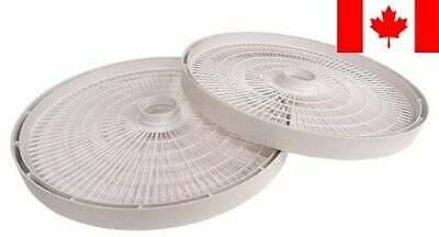 Nesco LT-2SG Set of 2 Add-A-Tray for FD-61/FD-61WHC/FD-75A and FD-75PR Dehydr...