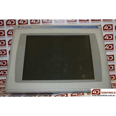 Allen Bradley 2711P-RDT12C PanelView Plus CE 1250 Color Touch Screen - Used -...
