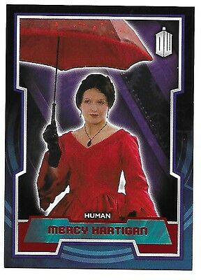 Doctor Who Topps 2015 Red Parallel Card 141 Mercy Hartigan 46 of 50